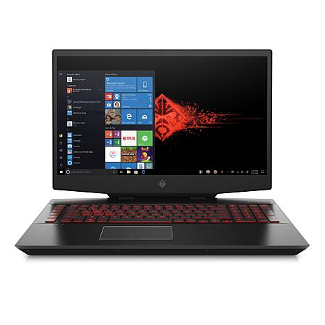 """Omen 17 17.3"""" 16GB 1TB HDD and 256GB SSD Laptop"""