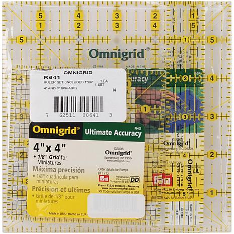 Omnigrid Ruler Set - Squares