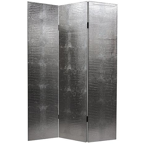 Oriental Furniture 6' Tall 3-Panel Room Divider