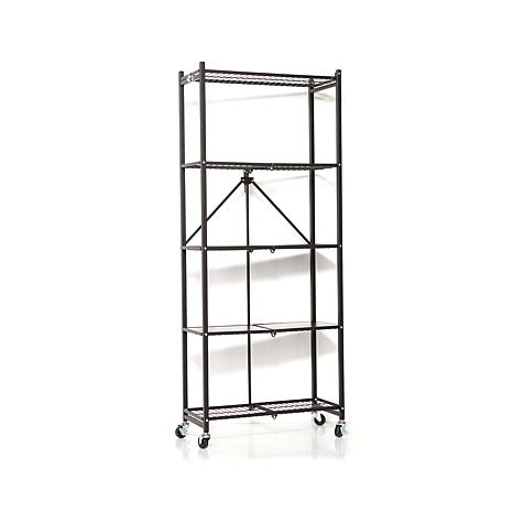 Origami 5 Tier Folding Pantry Rack   8090504 | HSN