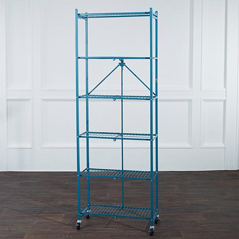 Origami For Hable Construction 6 Tier Storage Rack Up To 120 Lb Capacity 8374520 Hsn
