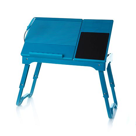 Origami Multi Functional Laptop Table With LED Light   8086842 | HSN