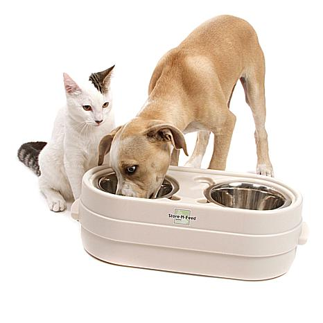 OurPets® Store-N-Feed Jr. Small Pet Feeder