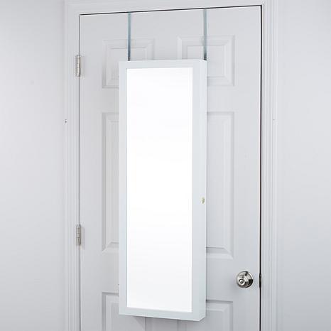 Over The Door 42 Quot Jewelry Armoire 8420680 Hsn