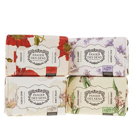 Panier des Sens Shea Butter Soap 4-pack