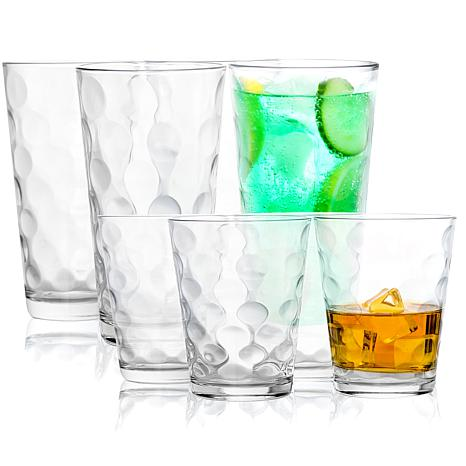 Pasabahce 16 Piece Opus Double Old Fashioned And Cooler Class Set