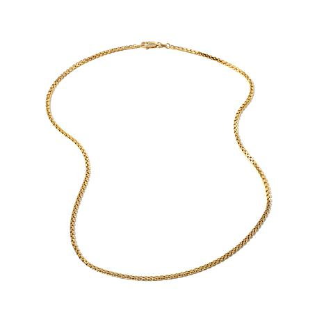 """Passport to Gold 14K Box Chain 18"""" Necklace"""