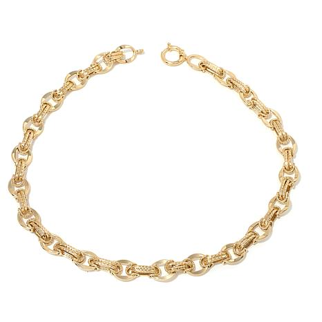 "Passport to Gold 14K Double Oval Link 18"" Necklace"