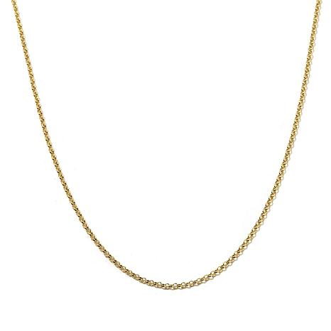 """Passport to Gold 14K Yellow Gold 1.9mm 16"""" Rolo Chain"""