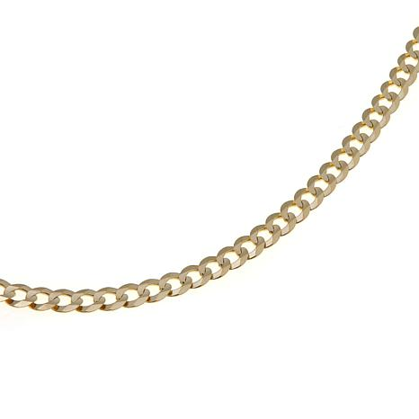 "Passport to Gold 14K Yellow Gold 3.6mm 18"" Curb Chain"