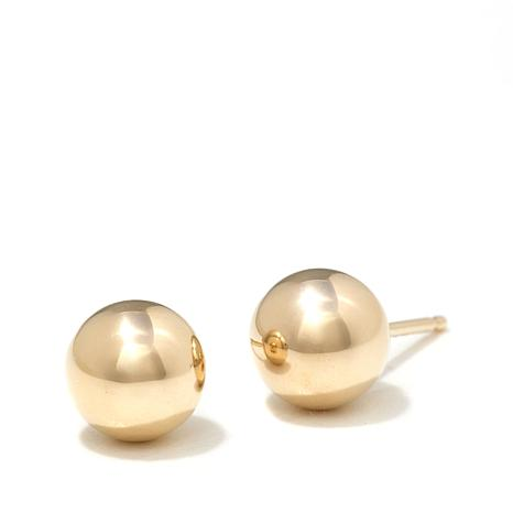Passport to Gold 14K Yellow Gold 6mm Ball Studs