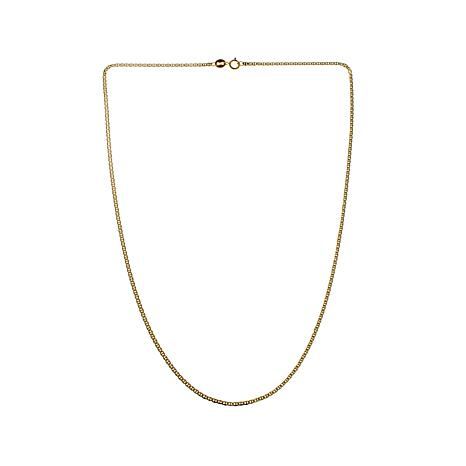 "Passport to Gold Yellow Gold Anchor Link 16"" Necklace"