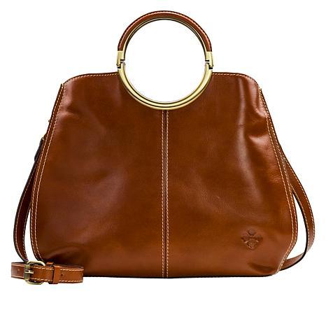 Patricia Nash Arenzano Leather Double Ring Large Shopper