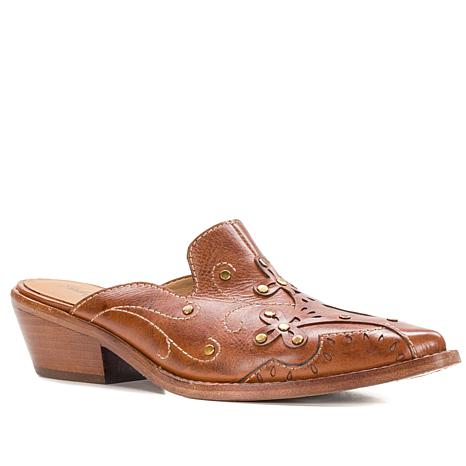 Patricia Nash Benedetta Western Leather Mule