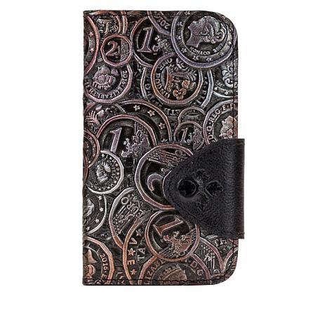 Patricia Nash Brenna Leather iPhone 10 Case Wallet