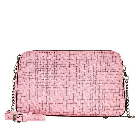 Patricia Nash Chambery Leather Crossbody Bag