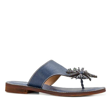 Patricia Nash Franca Leather Thong Sandal