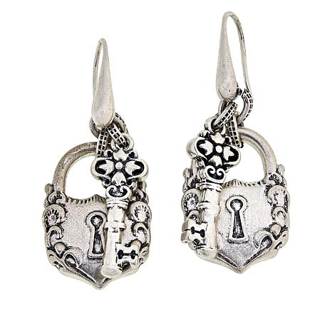 Image result for patricia nash lock earrings