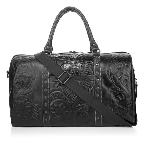 Patricia Nash Milano Leather Weekender