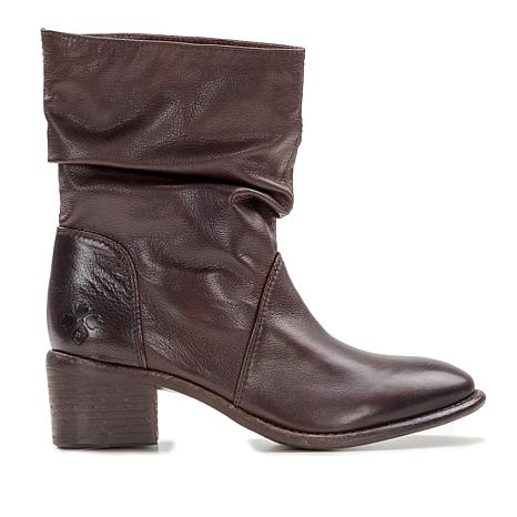 Patricia Nash Monte Leather Slouch Slip-On Boot