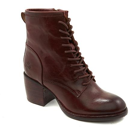 Patricia Nash Sicily Leather Lace-Up Boot