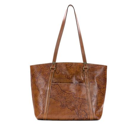 01b101085 Patricia Nash Treviso Leather Tote - 8594753 | HSN