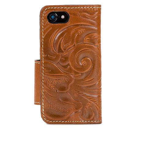 Patricia Nash Vara Leather Tooled iPhone 7 Phone Case