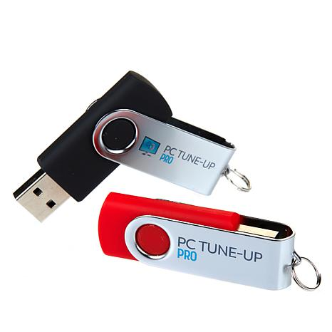 PC TUNE-UP Pro 2-pk Computer Cleaner Softwarewith 4 Lifetime Licenses