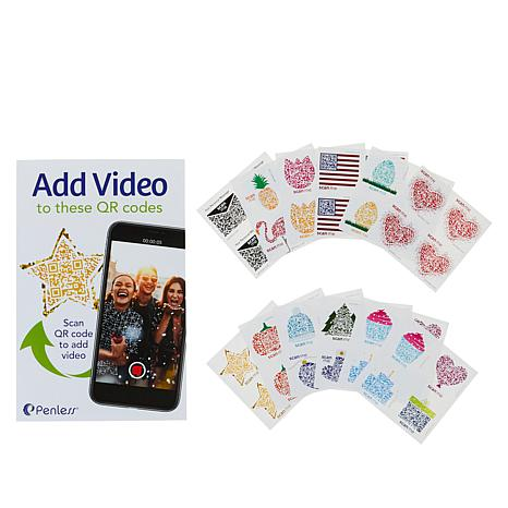 Penless All Occasion 48-piece Video Sticker Set