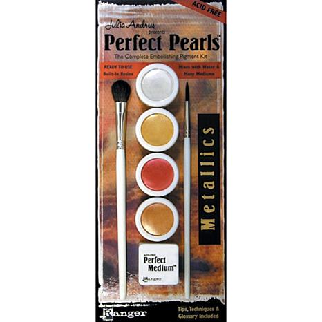 Perfect Pearls 4-Color Set - Metallics