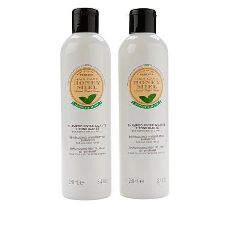 Perlier 2-pack Honey Mint Shampoo