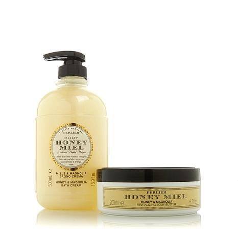 Perlier Honey & Magnolia 2-piece Kit