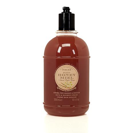 Perlier Honey & Vanilla Bath & Shower Cream - 101.4 fl. oz.