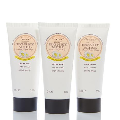 Perlier Honey Chamomile Hand Cream Trio