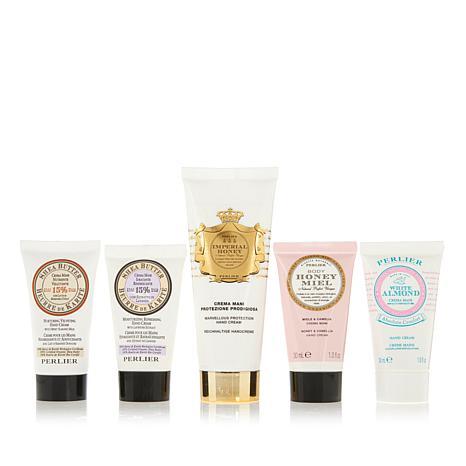 Perlier Imperial Honey Hand Cream with 4-piece Mini
