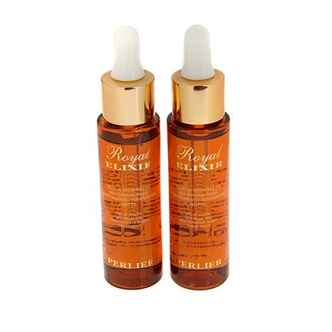 Perlier Royal Elixir Night Oil Duo