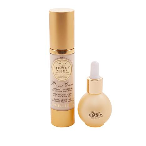 Perlier Royal Elixir Serum and Youth Creator 2-piece Set for the Face