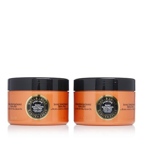 Perlier Shea Butter and Argan Oil Souffle for Hands and Feet