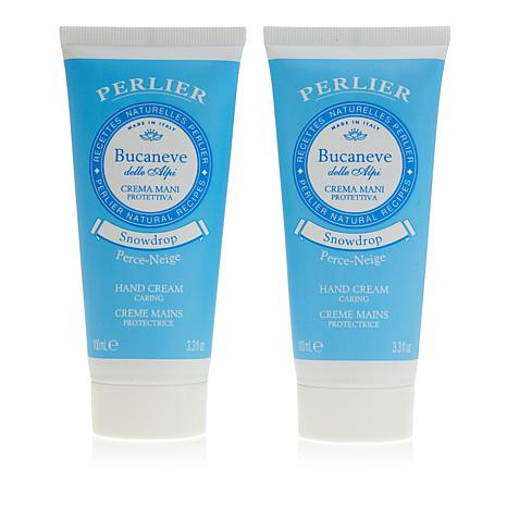 Perlier Snowdrop Hand Cream Duo - 3.3 fl. oz.