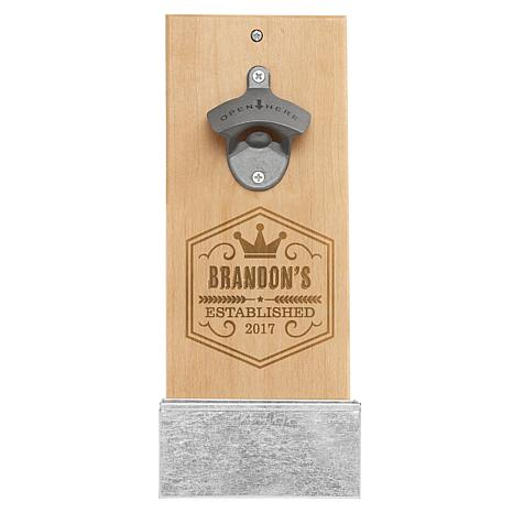 Personal Creations Personalized Crown Brew Pub Wall Bottle Opener