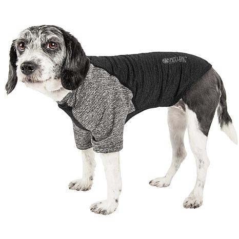 Pet Life Active Hybreed 4-Way Stretch Two-Toned Dog T-Shirt