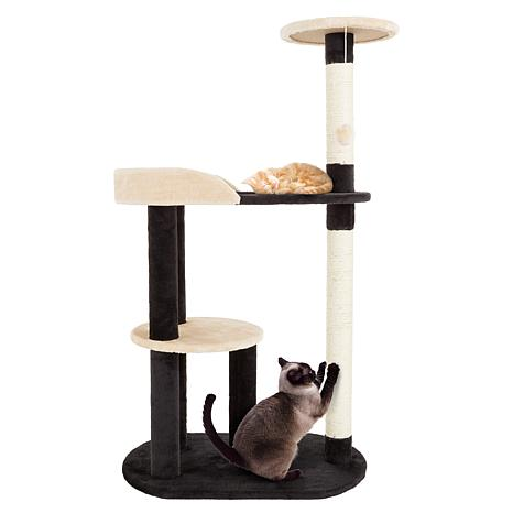 PETMAKER 3-Tier Cat Tree with 2 Scratching Posts