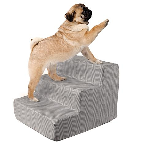 PETMAKER High-Density Foam Pet Stairs - 3 Steps