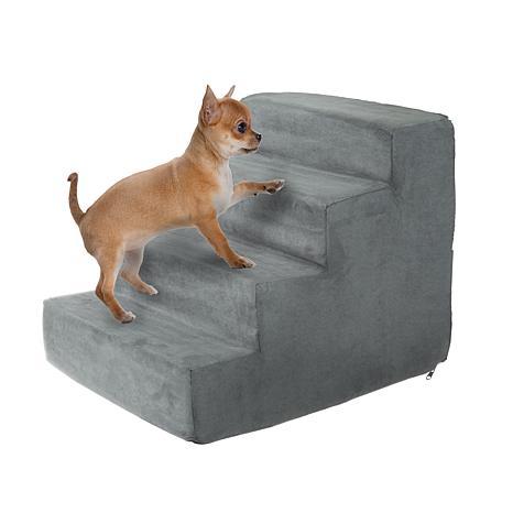 PETMAKER High-Density Foam Pet Stairs - 4 Steps