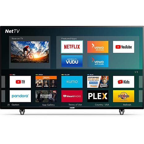 """Philips 50"""" 4K Ultra HD Smart TV with HDR and Net TV"""