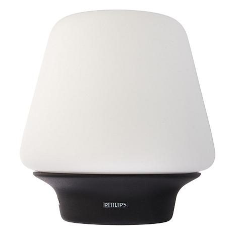 Philips Hue White Ambiance Table Lamp Wellness Black Base