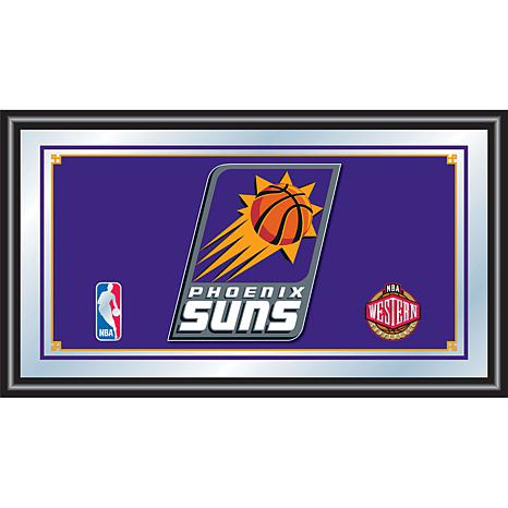 Phoenix Suns NBA Framed Logo Mirror