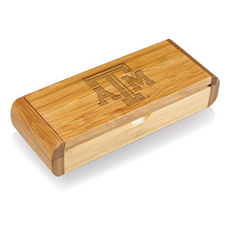 Picnic Time Élan-Bamboo Corkscrew - Texas A&M Un.
