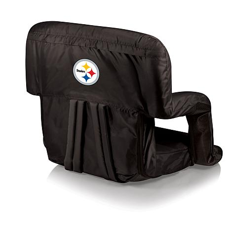 Picnic Time Ventura Folding Chair - Pittsburgh Steelers  sc 1 st  HSN.com : pittsburgh steelers folding chair - Cheerinfomania.Com