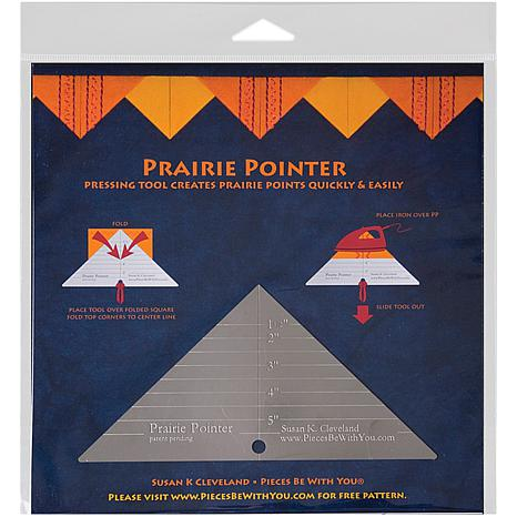 Pieces Be With You Prairie Pointer Pressing Tool -